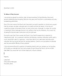 Recommendation Letter For Colleague Colleague Reference Letter For A Character Ex Sample Work