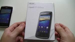 Acer Liquid Z110 Duo - déballage