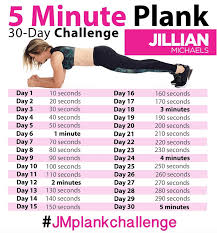 21 Day Plank Challenge Chart 30 Day Plank Challenge Workout Challenge Exercise 30 Day