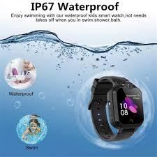 waterproof kids smart watch phone watch