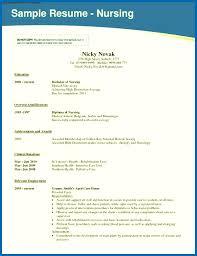 Nursing School Resume Resume Nursing Nursing School Resume Template Images Emberskyme 20