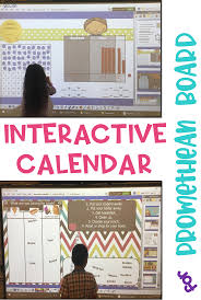 Interactive Calendar Promethean Board Activinspire A