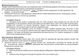 Executive Resume Formats Awesome How To Write The Perfect Executive Resume For Managers And Senior