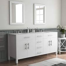 white double vanity.  White 72u0026quot White Double Sink Bathroom Vanity U0026quotIsabellau0026quot Intended Vanity