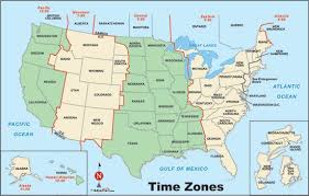 Us Time Zones Chart Google Search Time Zone Map Travel