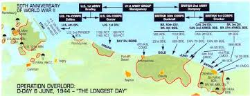 Maritime Topics On Stamps D Day Operation Overlord