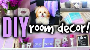 diy room decor ideas for teens cute cheap easy youtube