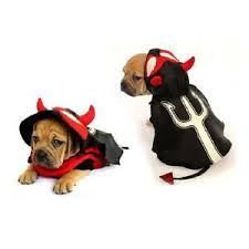 Details About High Quality Dog Costume Devil Costumes Dress Your Dogs Puppy Red Devils Satan