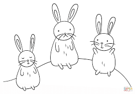 Celebrate Picture Books Picture Book Review Cute Bunnies Coloring Page
