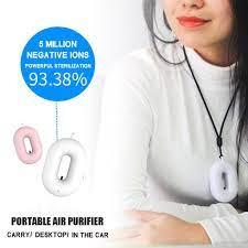 Giyilebilir Hava Temizleyici Kolye Kişisel Iyonizer Taşınabilir USB Ioniser  Mini Fresher Negatif Iyon Ozon Yetişkinler Çocuklar için uygun fiyatlı  satın alın - fiyat, ücretsiz teslimat, fotoğraflarla gerçek yorumlar - Joom