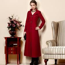 2016 winter women s ultra long wool outerwear single ted wool coat female plus size long trench coat free