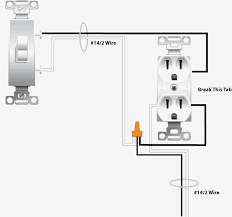 unique outlet switch wiring diagram a switched power to receptacle Source Switch Outlet Wiring Diagram unique outlet switch wiring diagram a switched power to receptacle