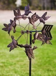 floating hummingbirds antique bronze