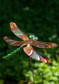 dragonfly garden stakes. Dragonfly Garden Stakes T
