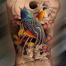 полная задняя водонепроницаемая временная татуировка наклейка