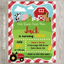 moo invitations birthday invitation templates farm party invitations