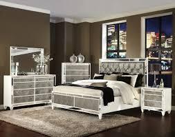 Mirror Bedroom Set Incredible Penelopeluxury Bedroom Set Bed 2 Nightstands Dresser