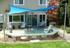 shade sail patio outdoor