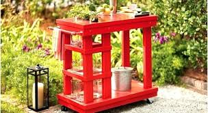 what every backyard party needs 12 diy outdoor serving stations carts outdoor serving cart outdoor serving