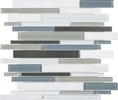 bliss linear glass stainless nordic storm
