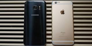 samsung galaxy s7 vs iphone 6s. samsung galaxy s7 vs iphone 6s