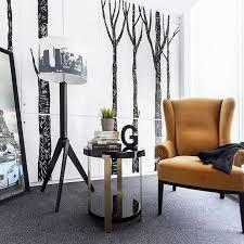 A modern contemporary office in South Jakarta featuring Moie Livingu0027s  ASCOTT side table in brass