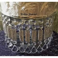 wedding cake stand with crystals chandelier acrylic beads and stunning rhinestone cupcake stand dessert stand