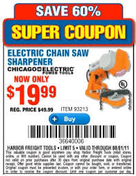 harbor freight sawmill coupon. electric chainsaw sharpener coupon. coupon tuesday harbor freight sawmill