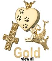 pet cremation jewelry silver and gold available metals