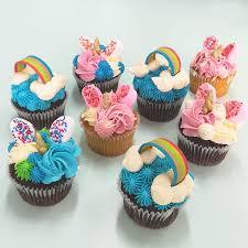 Unicorns And Rainbows Delish Cupcakes Auckland