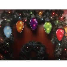Mini Light Garland Amazon Com Impact 7 25 Multi Color Shimmering C7 Bulb