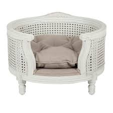 fancy pet furniture. George Linen Ecru Lord Lou Luxury Pet Furniture Fancy