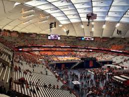 Carrier Dome Basketball Seating Chart Rows Can You See The Basketball Game From Way Over There In The