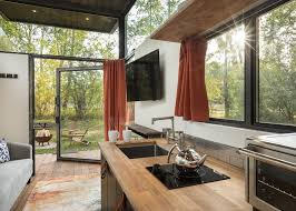 Industrial-Style Tiny Home Made for Outdoor Living – House of the Week