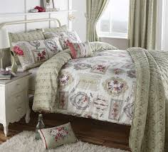pretty as a picture vintage style duvet cover