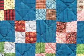 Late 19th Century Quilts & 614 Four Patch, 1870-1885, 75x78. This quilt is doubly interesting. It is  very graphic and also has some beautiful fabrics. Its yellow-based four- patch rows ... Adamdwight.com