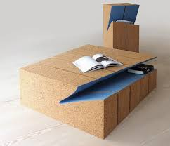 Add stylish designer coffee tables, side tables and more to your living room spaces. Bookshelf Eroded Bookshelf And Coffee Table