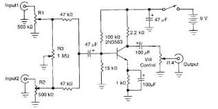 results page 220, about 'power control' searching circuits at next gr PMP960M Wiring Schematic for Mixer two channel audio mixer circuit design electronic project