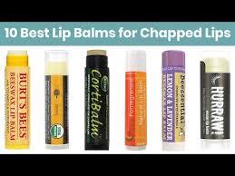 10 best lip balms 2019 for dry