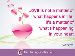 Powerful Love Quotes Adorable Inspirational Love Quote By Ken Keyes ComfortingQuotes