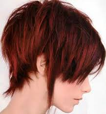 Short Red Hairstyles 83 Awesome Short Layered Hairstyles For Straight Hair With Deep Auburn Red Hair
