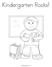 Kindergarten Coloring Worksheets – Color Bros