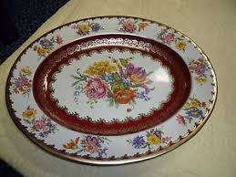 Daher Decorated Ware Tray Made In England Vintage Daher Decorated Ware 60 Oval Metal Floral Tray Made In 20
