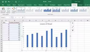 How To Create A Column Chart Using Only Two Columns Of Cells