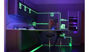 kitchen led lighting ideas. kitchen led strip lighting kitchens design with led idea under cabinet ideas