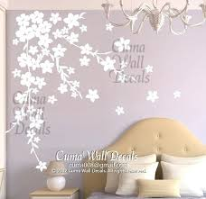 cherry blossom wall decal white cherry blossom wall decals flower vinyl wall decals tree nursery wall