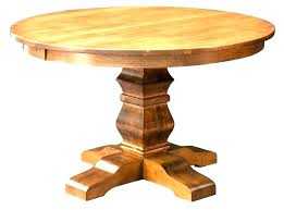 round pedestal table with leaf white pedestal dining table with leaf