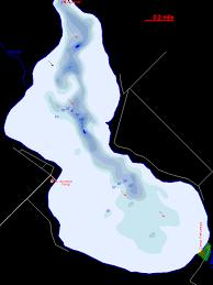 Pickerel Lake Map Emmet County Michigan Fishing Michigan