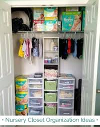 nursery closet organization ideas and s for small baby closets