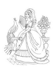 Small Picture Princess Coloring pages ballerina Embroidery Pinterest
